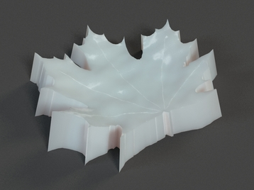 Maple Leaf Plate