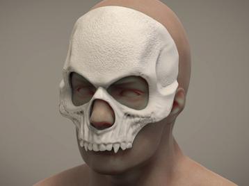 Halloween mask Skull mask Masquerade