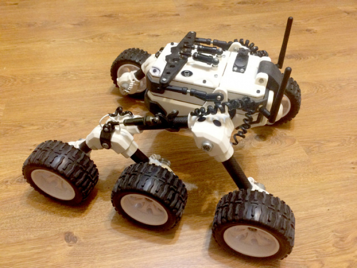 Martian rover — The Best model of the month for October