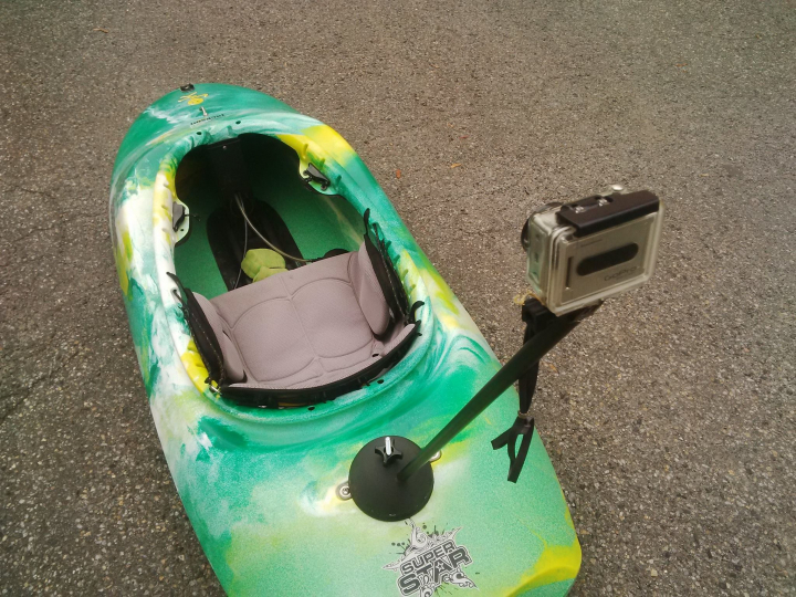 Go Pro post for kayaks — The Best model of the month for December