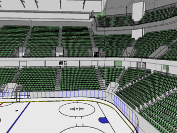 Ice Hockey Stadium - Big version