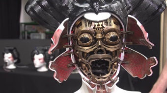 """3D Printing Helps to Animate Cyborgs for """"Ghost in the Shell"""""""