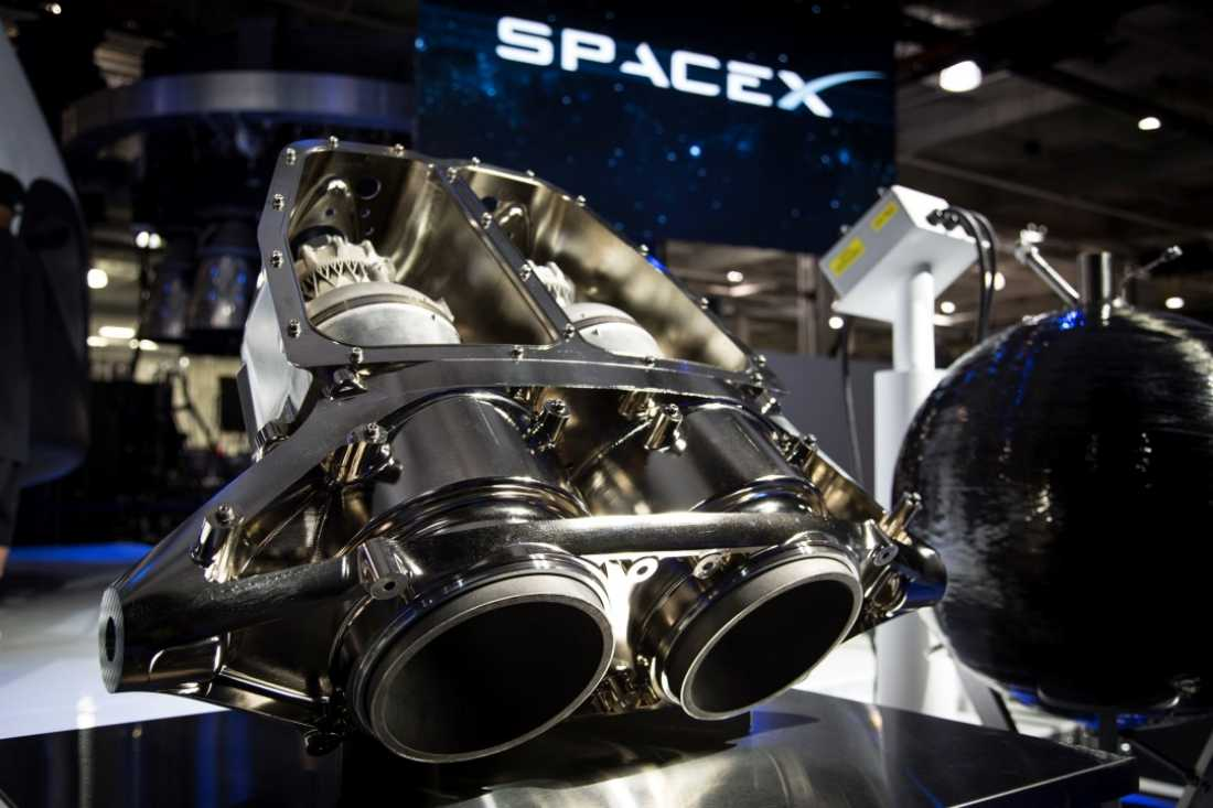 The SuperDraco is an engine used by SpaceX's Cargo Dragon spacecraft