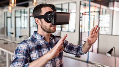 3D Printing in Virtual Reality