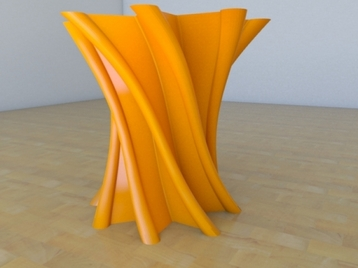 Star  Twist  Vase