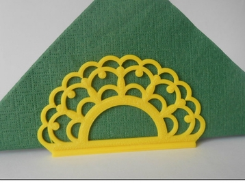 Napkin Holder Lace