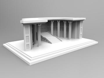 Building front detail