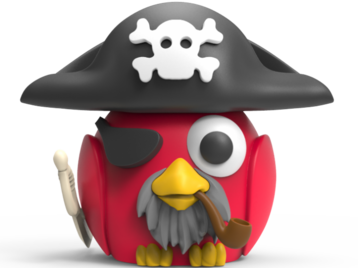 Bird Pirate toy