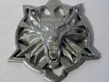 Medallion - Witcher Wolf - Last wish