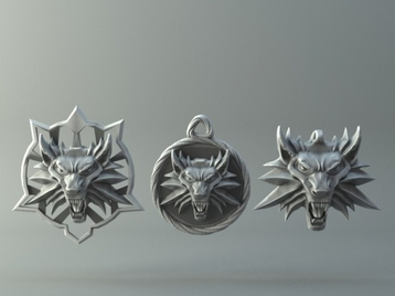 Witcher wolf collection