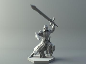 Warrior - D&D miniature
