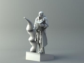Elven mage 3 - D&D miniature