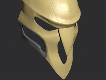 3D Printable Reaper Mask from Overwatch